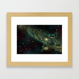 The Space Between Us Framed Art Print