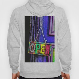 Psychedelic Open Sign Hoody