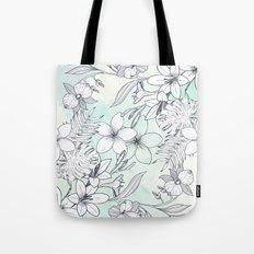 Floral Sketches Tote Bag