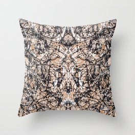 Reflecting Pollock Throw Pillow
