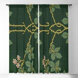 Art work of William Morris Blackout Curtain