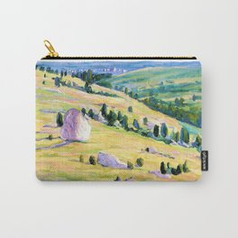 12,000pixel-500dpi - Brumback Dogtown - Louise Upton Brumback Carry-All Pouch