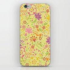 Oriental Blooms iPhone & iPod Skin