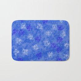 A Blue Winter Wonderland Bath Mat