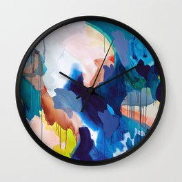 Cooling Abstract Wall Clock
