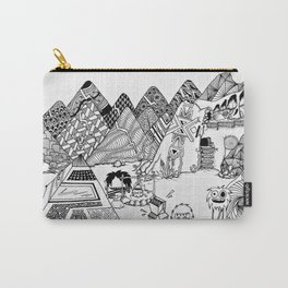 Wondrous & Whimsical Places: Explorations Carry-All Pouch