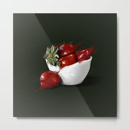 Stawberries Metal Print