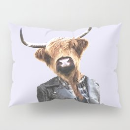 Cow Girl Pillow Sham
