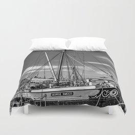 Thames Sailing Barge Duvet Cover