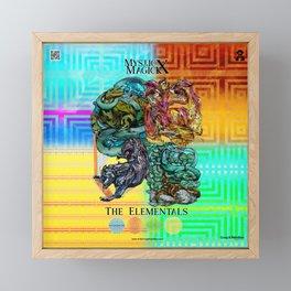 Mysticx & Magick: The Japanese Elemental Gods - Art Cover Framed Mini Art Print