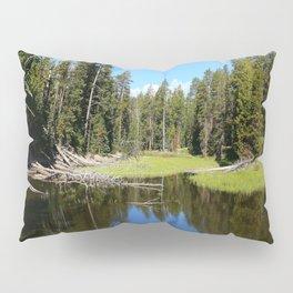 Morning Serenity At The Yellowstone NP Pillow Sham