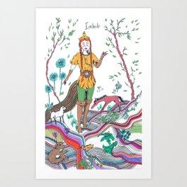 Imbolc Art Print