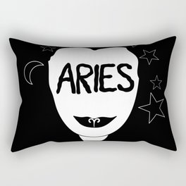 Aries Kiss Rectangular Pillow