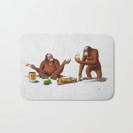 Orange Man (Wordless) Bath Mat
