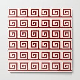 Antic pattern 1 Metal Print