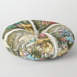 Alice of Wonderland Series Floor Pillow
