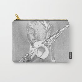 saxophone player... Carry-All Pouch