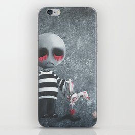 Big Juicy Tears of Blood and Pain No. 9 iPhone Skin