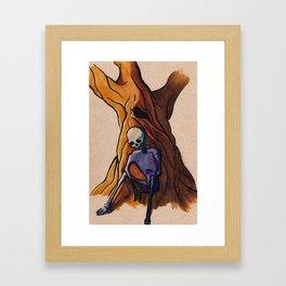 Melancholy Blues Framed Art Print