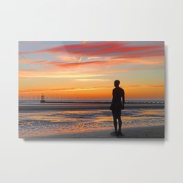 The Over-Looker Metal Print