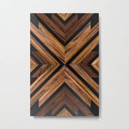 Urban Tribal Pattern No.3 - Wood Metal Print