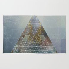 Perseid - Contemporary Geometric Pyramid Rug