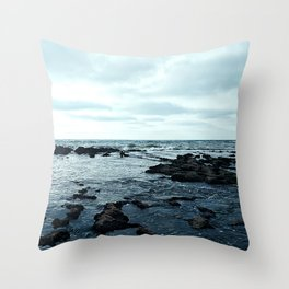 Rocky Shore Throw Pillow