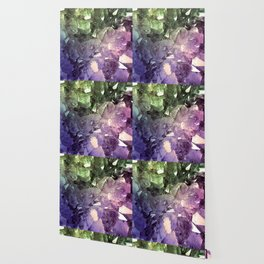 Two Tone Crystal Geode Wallpaper