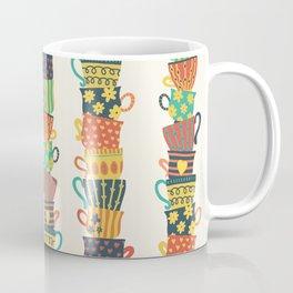 Stack of Teacups Coffee Mug