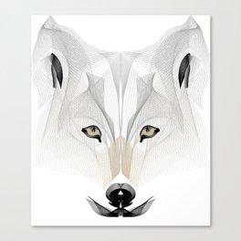 a wolfy matter! Canvas Print