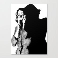 Lila Crane Canvas Print