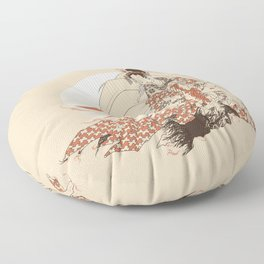Ninetales Daji Floor Pillow
