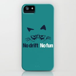 No drift No fun v2 HQvector iPhone Case