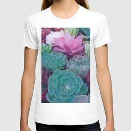 Succulents 2 T-shirt