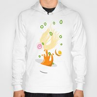 ramen Hoodies featuring Ramen Bowl Print by ROMAA