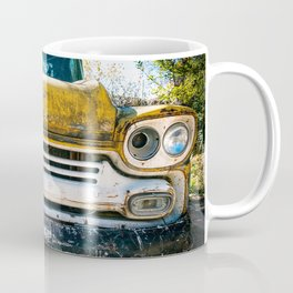 Old Yellow Chevry Apache Truck Coffee Mug