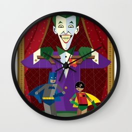 Joker's Theater Wall Clock