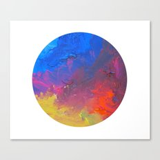 Dreamer Abstract Dot Canvas Print
