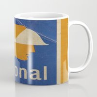 the national Mugs featuring National Logo by Bruce Stanfield