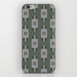 TAMAS DUSTY GREEN iPhone Skin