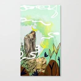 The High Priestess - Tarot Canvas Print