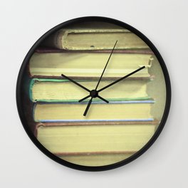 Yesterday's Stories Wall Clock