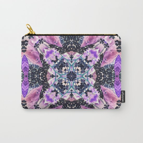 Kaleidoscope of night flowers Carry-All Pouch