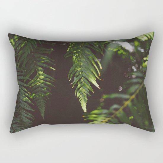 Ferns of Emerald Rectangular Pillow