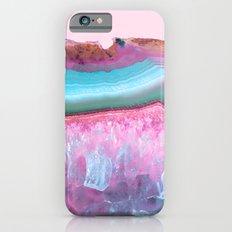 Rose Quartz and Serenity Agate iPhone 6s Slim Case