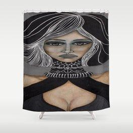 Sorceress Shower Curtain