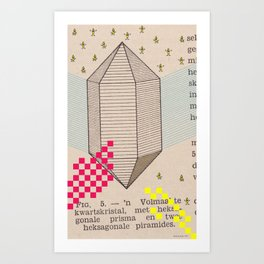 Fig 5. Primary Prism Banana Art Print