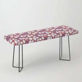 Alice in Wonderland - Purple Madness Bench