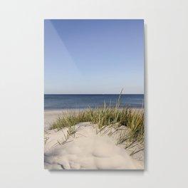 Bornholm Island Sea View Metal Print
