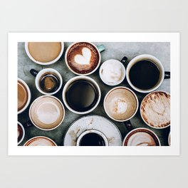 But First, Coffee II Art Print